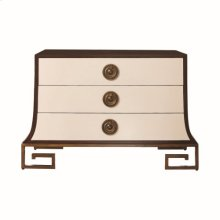Sabre Chest-Ivory/Walnut