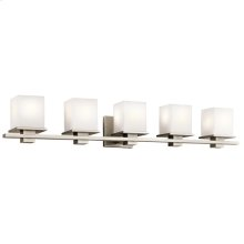 Tully Collection Tully 5 Light Bath Light in Antique Pewter