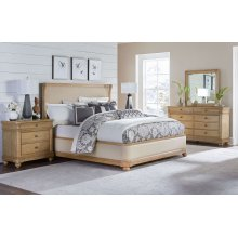 Ashby Woods Upholstered Bed, Queen 5/0