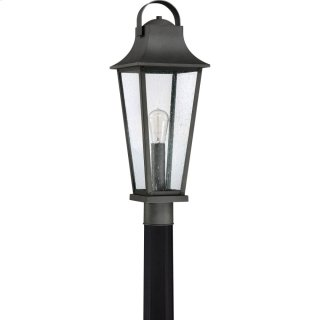 Galveston Outdoor Lantern in Mottled Black