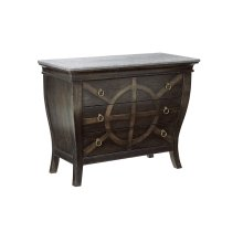 American Chapter Brace & Bit Bedside Chest