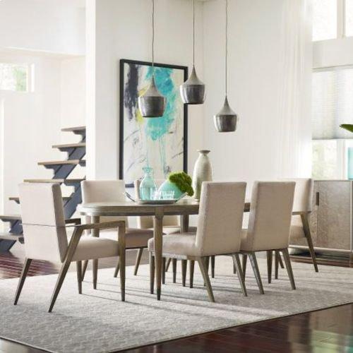 AD Modern Classics Lloyd Oval Dining Table - 2*20' Leaves