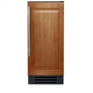 15 Inch Overlay Solid Door Clear Ice Machine - Left Hinge Stainless Solid Product Image