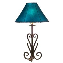 Forged Iron Table Lamp 026 (without shade)