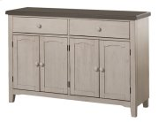 Clarion Server - Distressed Gray Top With Sea White Base Product Image