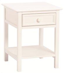 Wakefield 1 Drawer Nightstand white