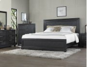 "Montana Queen Bed Footboard, Brown, 64""x2""x20"" Product Image"