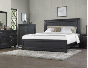 """Montana Queen Bed Footboard, Brown, 64""""x2""""x20"""""""