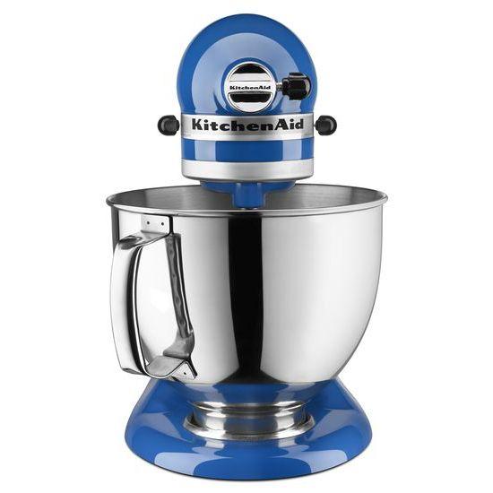 Hidden · Additional KitchenAid® Artisan® Series 5 Quart Tilt Head Stand  Mixer   French Blue