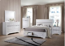 4pc White Bedroom Set