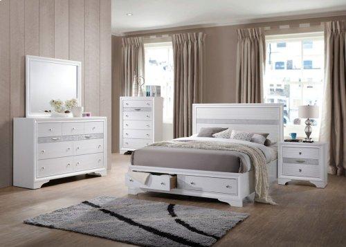 4pc White Bedroom Set