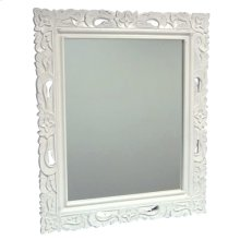 Floral Carved Mirror