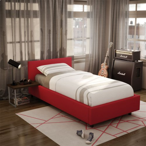 Muro Upholstered Bed - Twin