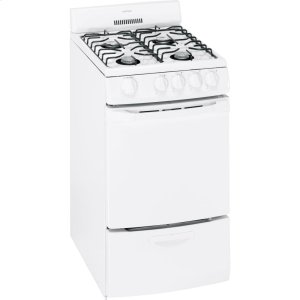 "HOTPOINTHotpoint(R) 20"" Free-Standing Gas Range"