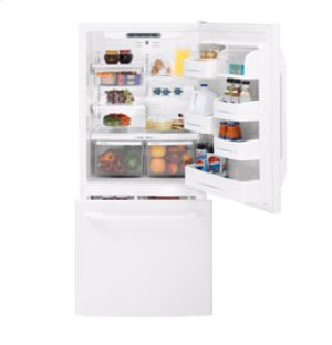 GE   19.5 Cu. Ft. Bottom-Freezer Refrigerator with Pull-out Drawer
