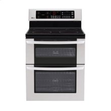 6.7 cu. ft. Capacity Electric Double Oven Range with a Tall Upper Oven and IntuiTouch Controls