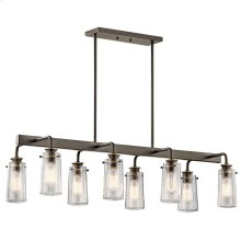 Braelyn Collection Braelyn 8 Light Linear Chandelier in OZ