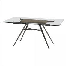 Armen Living Leah Contemporary Rectangular Dining Table