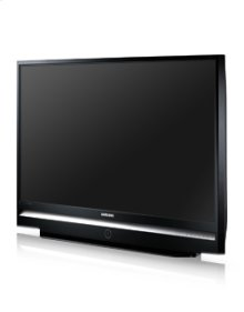 "56"" widescreen DLP® HDTV w/720P resolution"
