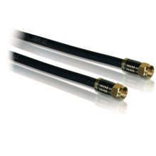 Quad shield coaxial cable