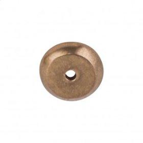 Aspen Round Backplate 7/8 Inch - Light Bronze