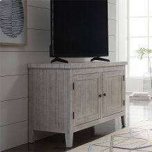 48 Inch TV Console - White