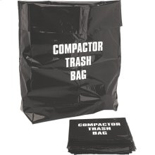 "12 Pack Compactor Bags for 12"" models"