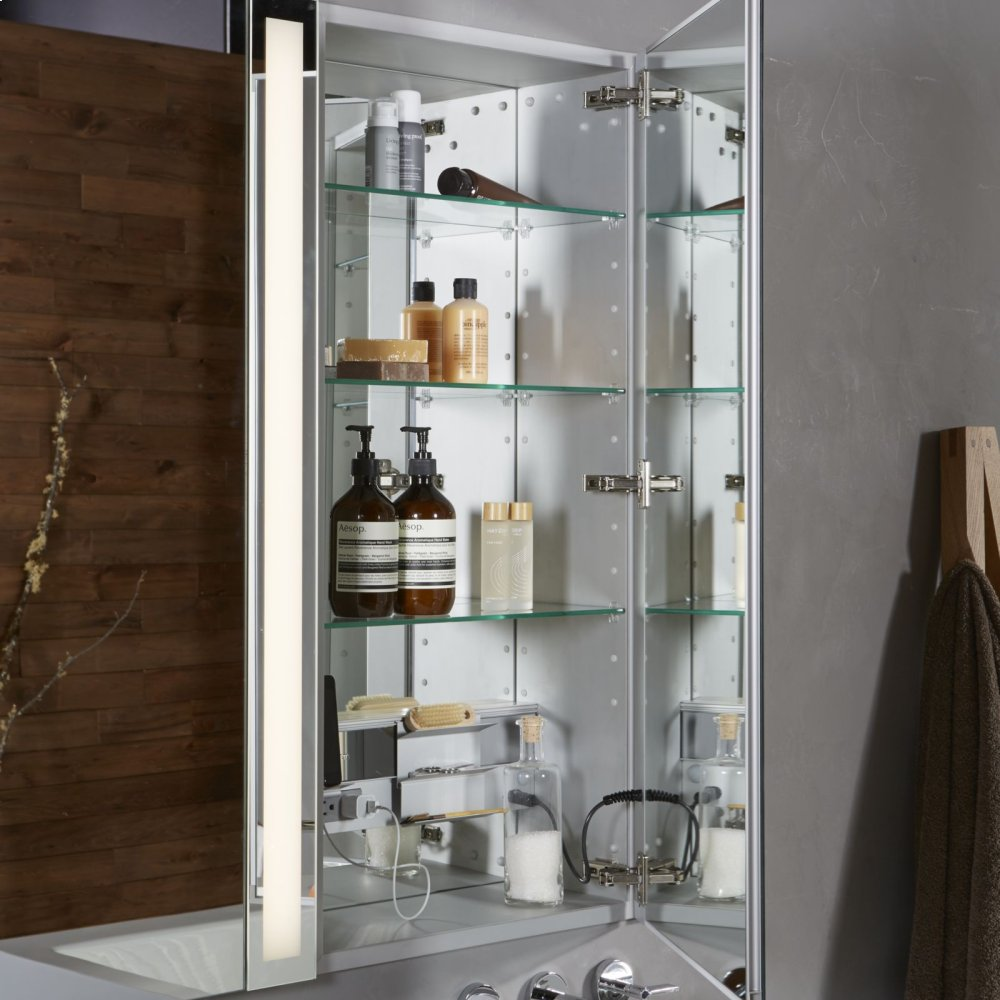 """Additional M Series 19-1/4"""" X 39-3/8"""" X 8"""" Flat Top Cabinet With Bevel Edge and Left Hinge"""