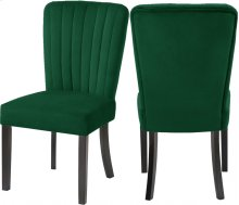 """Shelby Vlevet Dining Chair - 20.5"""" W x 23.5"""" D x 39"""" H"""