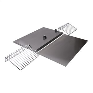 "Jenn-AirBackguard with Shelf - 30"" Stainless Steel"
