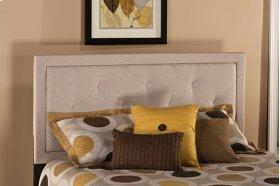 Becker King Headboard - Cream Fabric