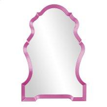 Nadia Mirror - Glossy Hot Pink