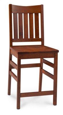 "Grant II Stationary Barstool, 24"" Seat Height"