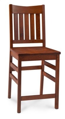 "Grant II Stationary Barstool, 24"" Seat Height"