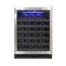 54 Bottle Stainless Wine Cooler