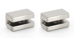 Cube Shelf Brackets A6550 - Satin Nickel
