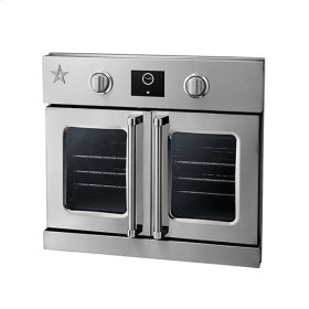 "30"" ELECTRIC WALL OVEN WITH FRENCH DOOR"