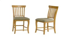Venetian Dining Chairs Set of 2 with Cappuccino Cushion in Caramel Latte