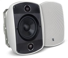 """5B65S-W 6.5"""" 2-Way, OutBack Single Point Stereo Speaker in White"""