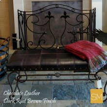 1220 Wrought Iron Bench