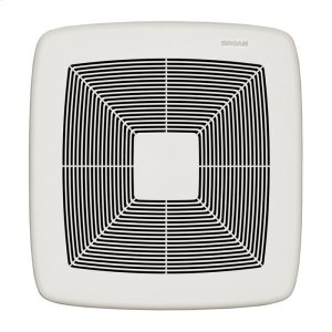 ULTRA GREEN Series 80 CFM Multi-Speed Ventilation Fan, with white grille, Recognized as ENERGY STAR® Most Efficient 2018 Product Image