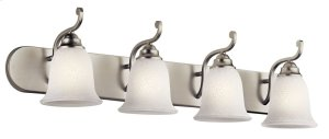 Camerena 4 Light Vanity Light Brushed Nickel