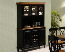 Hutch With Glass Doors Rta