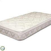 Queen-Size Carnation Euro Pillow Top Mattress Product Image