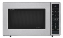 1.5 cu. ft. 900W Sharp Stainless Steel Carousel Convection + Microwave (SMC1585BS)