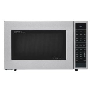 Sharp Appliances1.5 cu. ft. 900W Sharp Stainless Steel Carousel Convection + Microwave