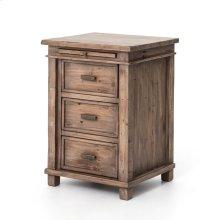 Settler Bedside Cabinet 3drw-sun Ash