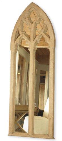 Cathedral Window Floor Mirror