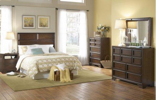 Benchmark Panel Bed Queen