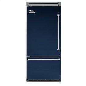 "Viking Blue 36"" Bottom-Mount Refrigerator/Freezer - VIBB (Left Hinge Door)"